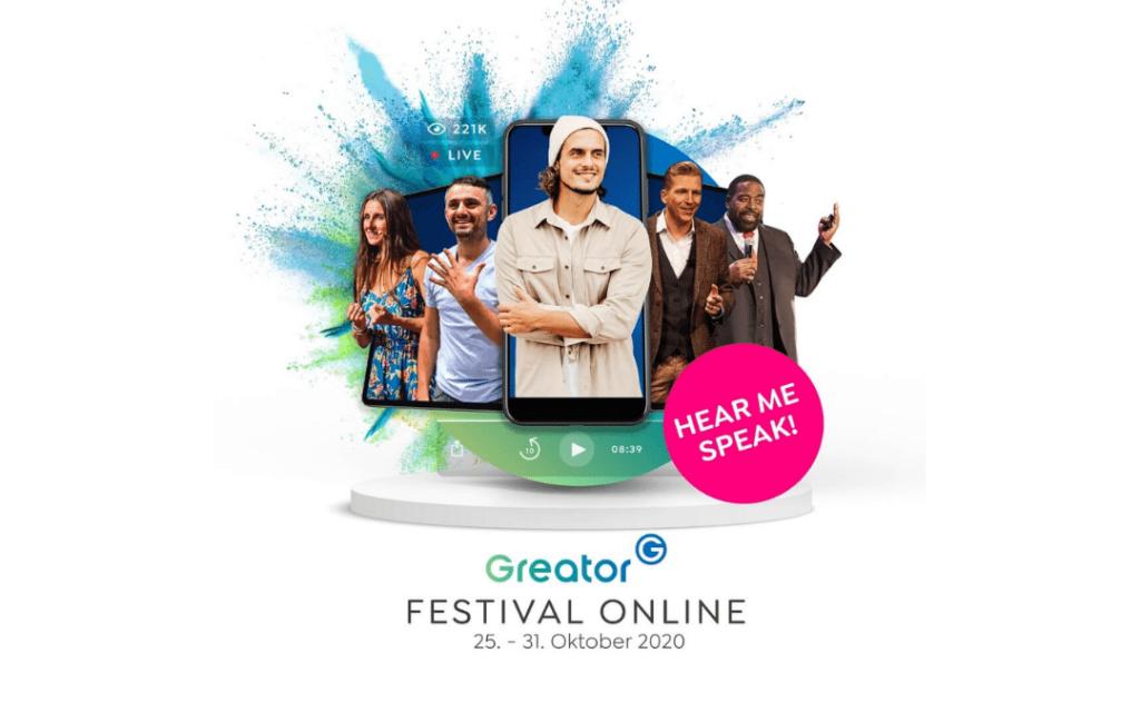 Chris Bloom Greator Festival