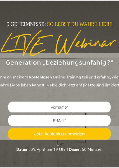 Webinar _beziehungsfaehig_ Für Dich
