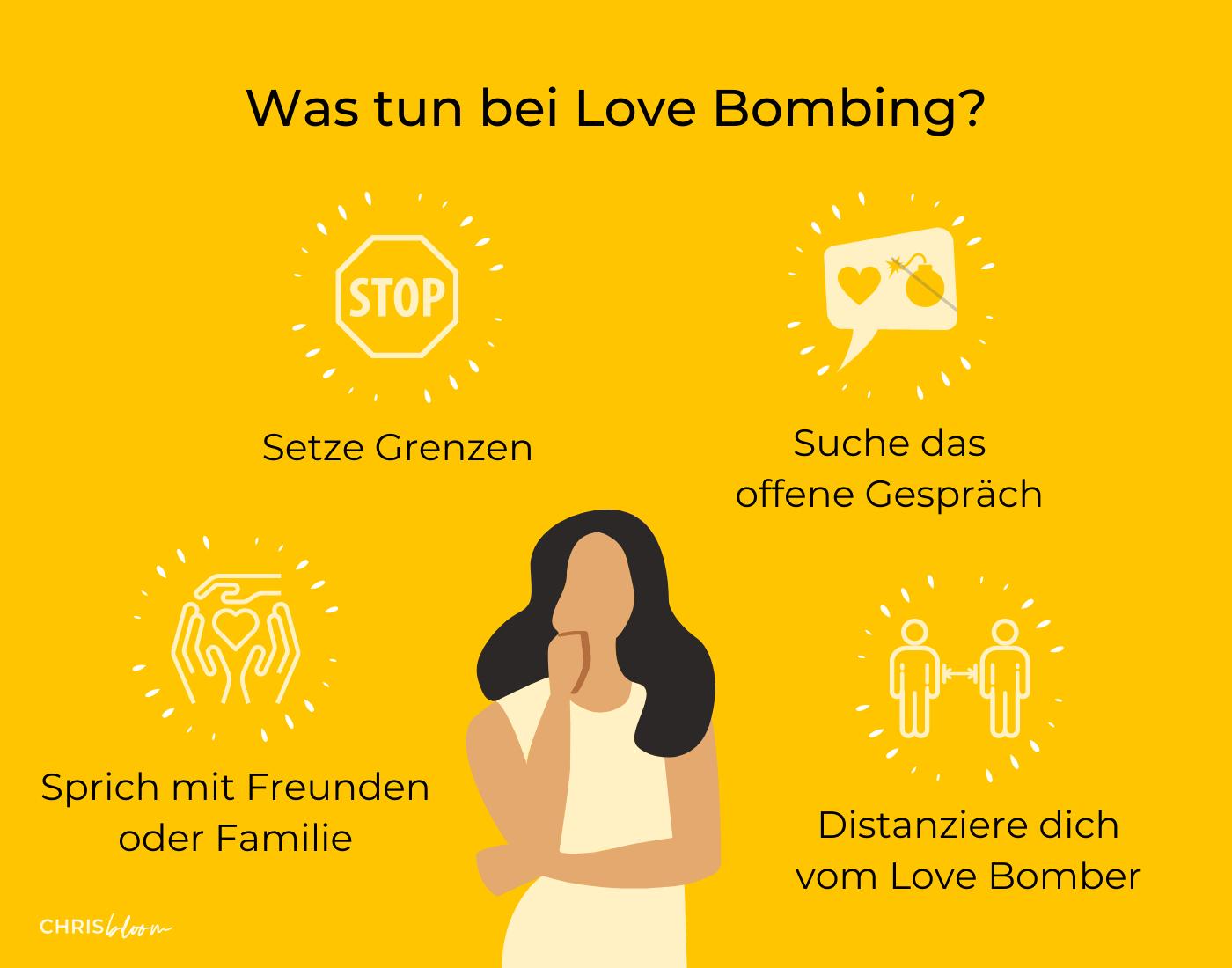 Was tun bei Love Bombing?